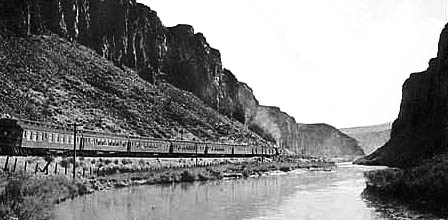 Southern Pacific Overland train Nevada