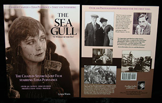 Edna Purviance in The Sea Gull - Cover Illustrations